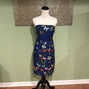 Anthropologie Nathalie lete Paris Butterfly Dress